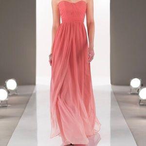 Sorella Vita Ombre Ruched Top Prom Dress
